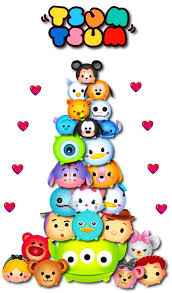 Buy 2 Get 1 Free Tsum Tsum Disney 422 Cross Stitch Pattern