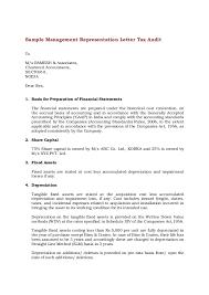 Sample Letter To Dmv Sample Management Representation Letter
