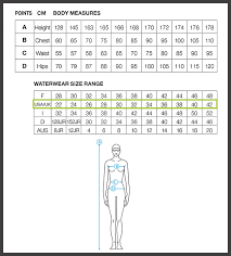 Youth Swim Jammer Size Chart 65 Exact Arena Swimsuit Size Chart
