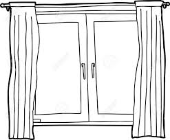 window clipart black and white. Interesting Clipart Window Clipart Black And White For I