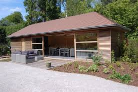 pool house. Delighful Pool Houten Poolhouses  Poolhouse In Paddoek Met Grote Schuiframen Ref1237  With Pool House
