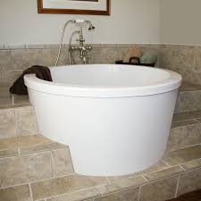 attractive soaker bath tubs  siglo round japanese soaking tub