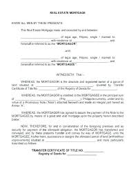 Mortgage Promissory Note Template Real Estate Promissory Note