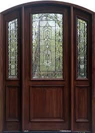 arch doors arched top doors exterior arched doors