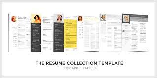 Free Resume Templates For Pages Word Resume Templates Mac Free