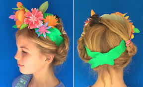 Paper Flower Headbands Flower Crown Headpiece Cinco De Mayo Fiesta Party Costume Ideas
