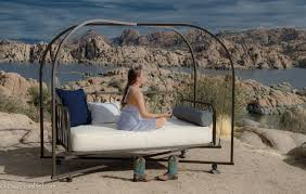 Enthralling It Will Make You Enjoy Youroutdoor Outdoor Porch Bed Swing Round  In You Will Find