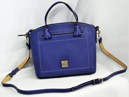 dooney and bourke domed satchel french blue