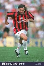 MARCO SIMONE AC MILAN 9. August 1995 Stockfotografie - Alamy
