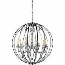 brizzo lighting s 38 led cage modern crystal round large with regard to lovely modern