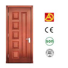 Exotic Interior Modern Bedroom Wooden Door Design In Dubai