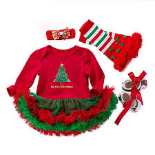 Amazon Com Infant Toddler Baby Girls Christmas Clothes 3 18