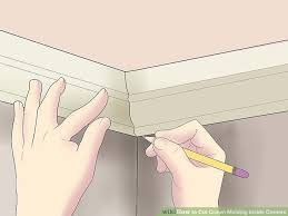image titled cut crown molding inside corners step 13