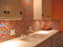 Backsplash  Glass Mosaic Tile Backsplash Bathroom Small Home Mosaic Home Decor
