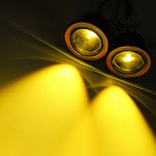 Yellow Round Light
