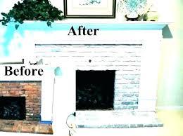 white painted fireplace brick fireplace surround designs painted fireplace ideas white painted brick fireplace surround ideas