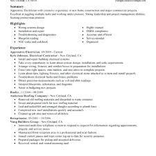 Electrical Apprentice Resume Samples Resume Apprentice Electrician Resume Org Examples Foreman