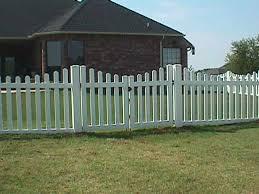 picket fence double gate. Plain Picket Scalloped Fence  6u0027 Double Gate Throughout Picket C