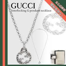gucci interlocking g pendant