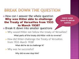 treaty of versailles essay plan cf treaty of versailles essay plan