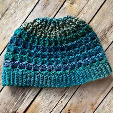 Crochet Bun Hat Free Pattern Extraordinary Beautiful Skills Crochet Knitting Quilting Simple Textured Messy