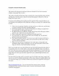 Restaurant Business Plan Template Great Restaurant Business Plan Sample Canada Business Plans 3