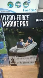 Надувная <b>лодка</b> ПВХ <b>Bestway Marine Pro</b> Hydrо-Force ...