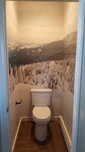 Bathroom wallpaper murals ...