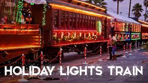Holiday Lights Train Holiday Train Rides At The Boardwalk
