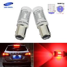 Tailgate Light Bulb Us 10 99 Angrong 2x For Ford Red Samsung Brake Led Stop Tail Light Bulb 567 21 5w Baw15d Offset Pins In Signal Lamp From Automobiles Motorcycles