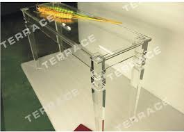 acrylic furniture legs. Rectangular Lucite Console Table With Square Tapered Acrylic Legs,Acrylic Dining Tables-in Tables From Furniture On Aliexpress.com | Alibaba Group Legs T