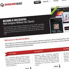 Professional Business Web Layout Design With Free Psd Source