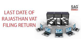Vat Chart For Fy 2017 18 Last Date Of Rajasthan Vat Return Filing Fy 2017 18