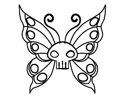 Small Picture Emo butterfly coloring page Coloringcrewcom
