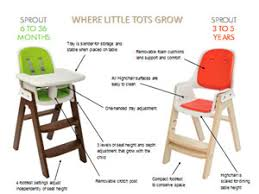 oxo tot sprout. Interesting Oxo The OXO Tot Sprout Highchair Grows With Tots From Six Months To Five Years And Oxo