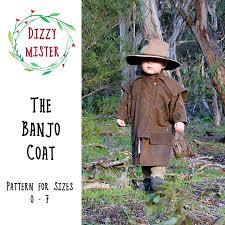 Childrens Coat Sewing Pattern Kids Coat Pdf Pattern Boys