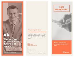 Marketing Brochure Templates Orange Marketing Brochure Templates By Canva