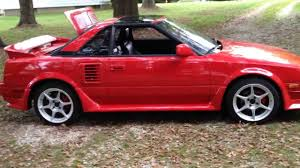 1989 Supercharged Toyota MR2 - YouTube