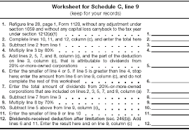 form 1120a instructions for forms 1120 1120 a schedule c and j
