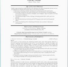 Cover Letter In A Resume Classy Food Service Worker Cover Letter New Resume Sample Food Service