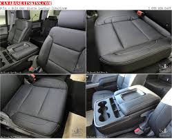2016 2016 gmc sierra leather seats