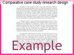 Causal Comparative Study Comparative Case Study Research Design Coursework Academic Service