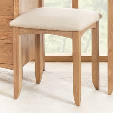 Oak Bedroom Chair Edward Hopper Oak Dressing Table Stool Bedroom Furniture Direct