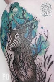 Cover Jelen Tetování Medusa Tattoo Originální Tetování Frýdek Místek