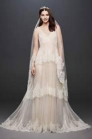 vintage plus size wedding dresses david s bridal