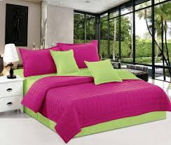 hours purple king size 260 x 240 cm two sided compressed comforter 6 pieces bedding sets hrs 3 7
