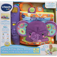 online baby photo book vtech peek play fabric book french learning educational toys