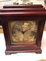 linden lantern style mantle clock brand new in box style mmh 1604 p darwin