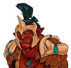 troll warlord by halmtier on deviantart