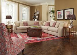 Living Room Furniture Northern Va Tempo 5 Piece Sectional By Rowe Furniture Home Gallery Stores